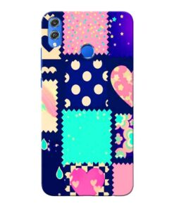 Cute Girly Honor 8X Mobile Cover