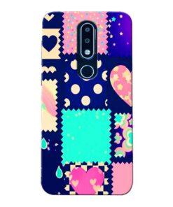 Cute Girly Nokia 6.1 Plus Mobile Cover
