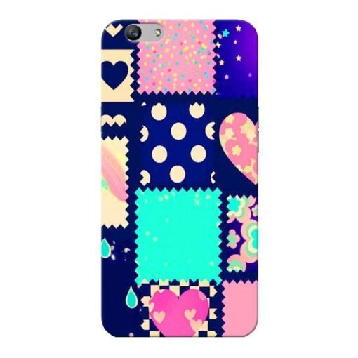 Cute Girly Oppo F1s Mobile Cover