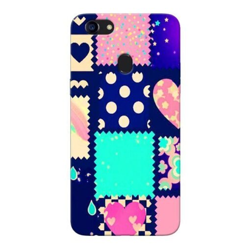 Cute Girly Oppo F5 Mobile Cover
