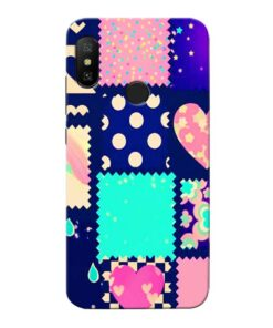 Cute Girly Xiaomi Redmi 6 Pro Mobile Cover