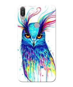 Cute Owl Asus Zenfone Max Pro M1 Mobile Cover