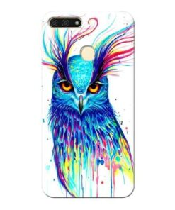 Cute Owl Honor 7A Mobile Cover