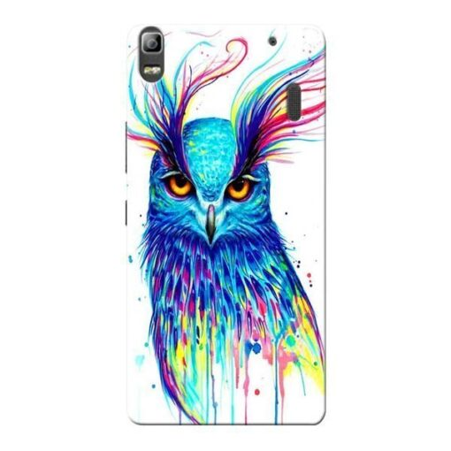Cute Owl Lenovo K3 Note Mobile Cover