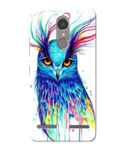 Cute Owl Lenovo K6 Power Mobile Cover