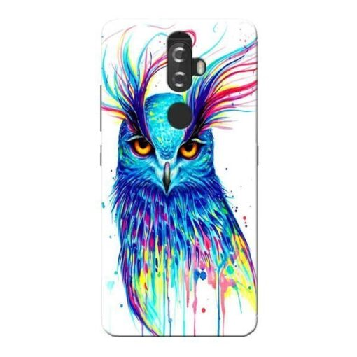 Cute Owl Lenovo K8 Plus Mobile Cover