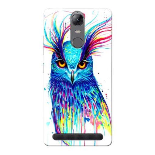 Cute Owl Lenovo Vibe K5 Note Mobile Cover