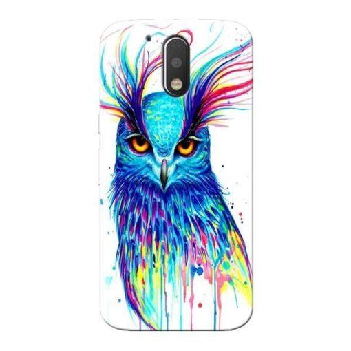 Cute Owl Moto G4 Plus Mobile Cover