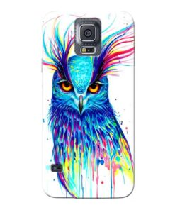 Cute Owl Samsung Galaxy S5 Mobile Cover
