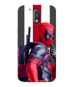 DeadPool Star Moto G4 Mobile Cover