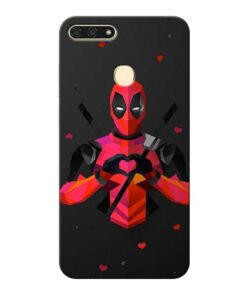 DeedPool Cool Honor 7A Mobile Cover