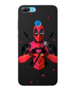 DeedPool Cool Honor 9 Lite Mobile Cover