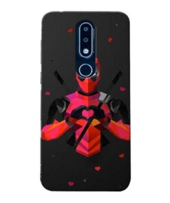 DeedPool Cool Nokia 6.1 Plus Mobile Cover
