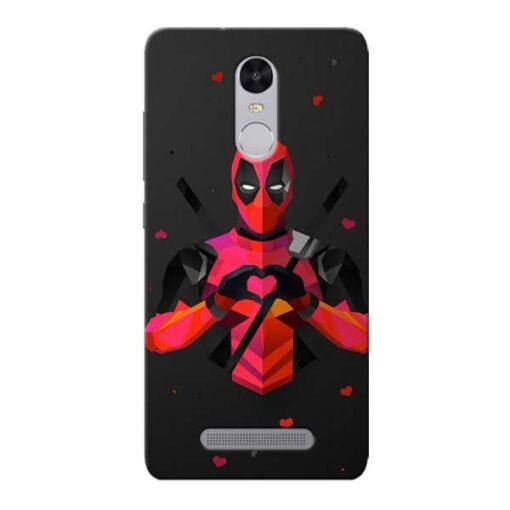 DeedPool Cool Xiaomi Redmi Note 3 Mobile Cover