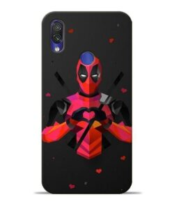 DeedPool Cool Xiaomi Redmi Note 7 Pro Mobile Cover
