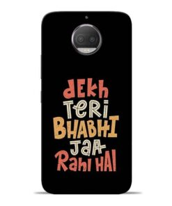 Dekh Teri Bhabhi Moto G5s Plus Mobile Cover