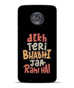 Dekh Teri Bhabhi Moto G6 Mobile Cover