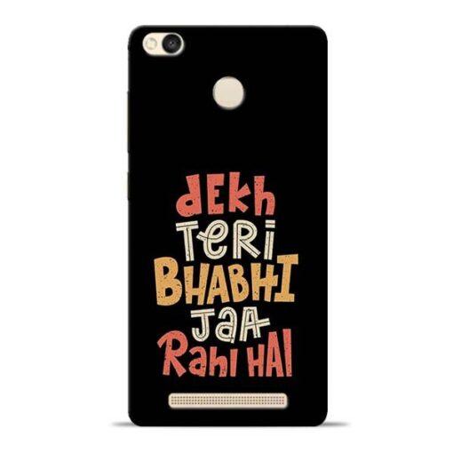 Dekh Teri Bhabhi Redmi 3s Prime Mobile Cover