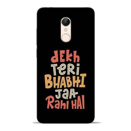 Dekh Teri Bhabhi Redmi 5 Mobile Cover