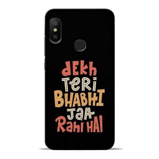 Dekh Teri Bhabhi Redmi 6 Pro Mobile Cover