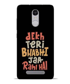 Dekh Teri Bhabhi Redmi Note 3 Mobile Cover