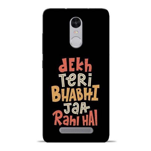 Dekh Teri Bhabhi Redmi Note 3 Mobile Cover