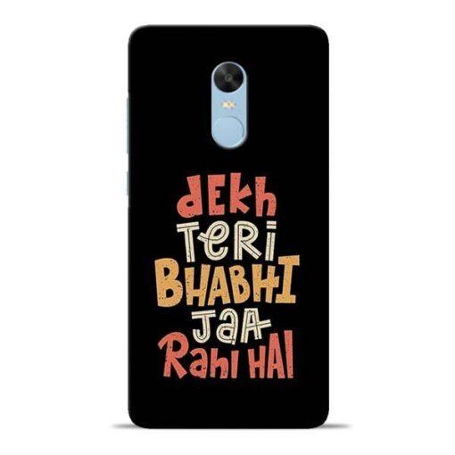 Dekh Teri Bhabhi Redmi Note 4 Mobile Cover