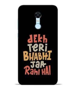 Dekh Teri Bhabhi Redmi Note 5 Mobile Cover