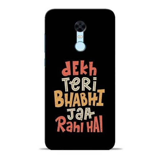 Dekh Teri Bhabhi Redmi Note 5 Mobile Cover