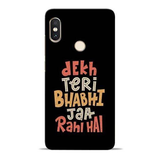 Dekh Teri Bhabhi Redmi Note 5 Pro Mobile Cover