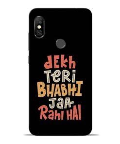 Dekh Teri Bhabhi Redmi Note 6 Pro Mobile Cover