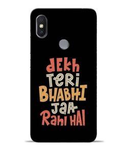 Dekh Teri Bhabhi Redmi S2 Mobile Cover