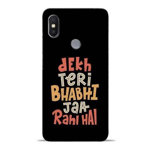 Dekh Teri Bhabhi Redmi Y2 Mobile Cover