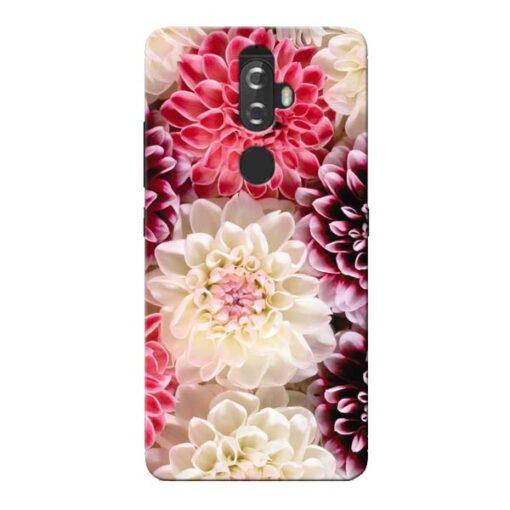 Digital Floral Lenovo K8 Plus Mobile Cover