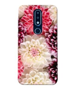 Digital Floral Nokia 6.1 Plus Mobile Cover