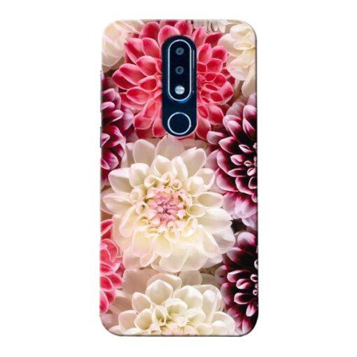 Digital Floral Nokia 6.1 Plus Mobile Cover