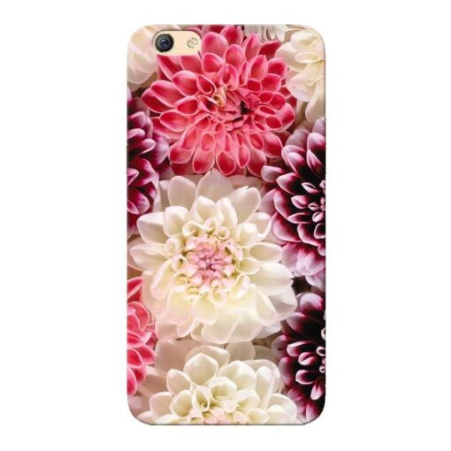 Digital Floral Oppo F3 Mobile Cover