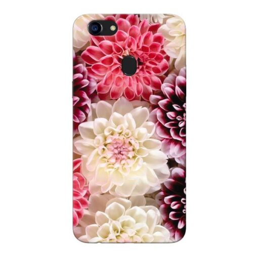 Digital Floral Oppo F5 Mobile Cover