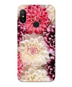 Digital Floral Xiaomi Redmi 6 Pro Mobile Cover