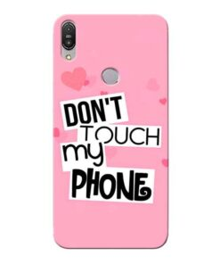 Dont Touch Asus Zenfone Max Pro M1 Mobile Cover