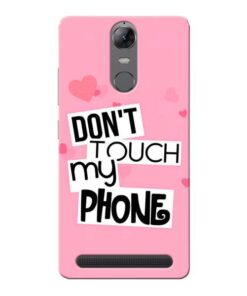 Dont Touch Lenovo Vibe K5 Note Mobile Cover