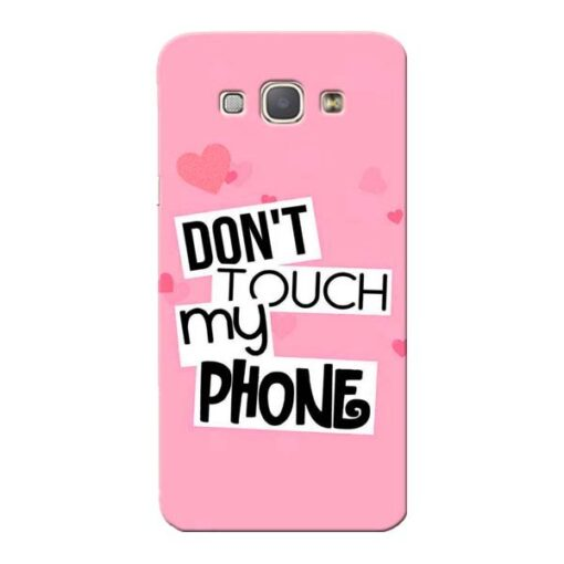 Dont Touch Samsung Galaxy A8 2015 Mobile Cover