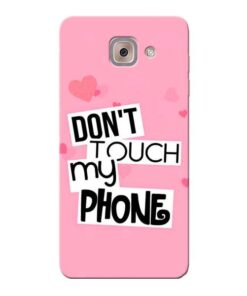 Dont Touch Samsung Galaxy J7 Max Mobile Cover