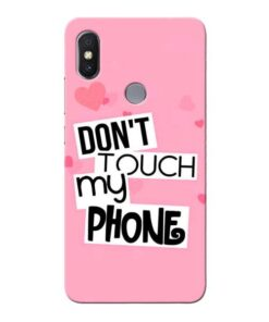 Dont Touch Xiaomi Redmi Y2 Mobile Cover