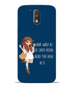 Ek Lauti Hoon Moto G4 Mobile Cover