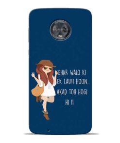 Ek Lauti Hoon Moto G6 Mobile Cover