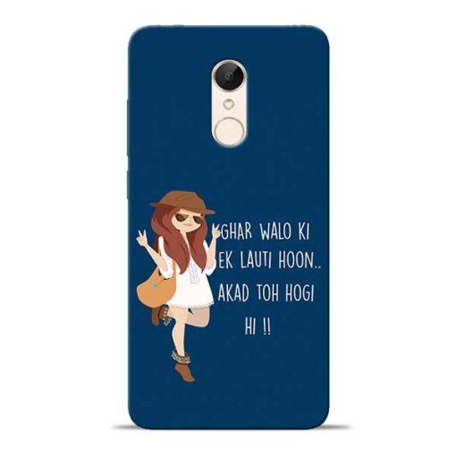 Ek Lauti Hoon Redmi 5 Mobile Cover