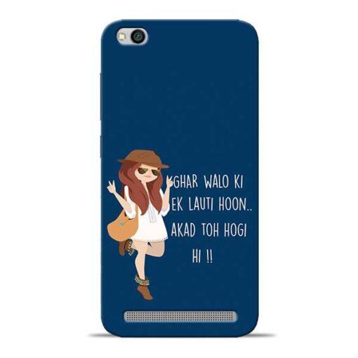 Ek Lauti Hoon Redmi 5A Mobile Cover