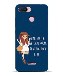 Ek Lauti Hoon Redmi 6 Mobile Cover