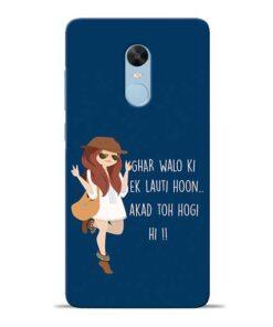 Ek Lauti Hoon Redmi Note 4 Mobile Cover
